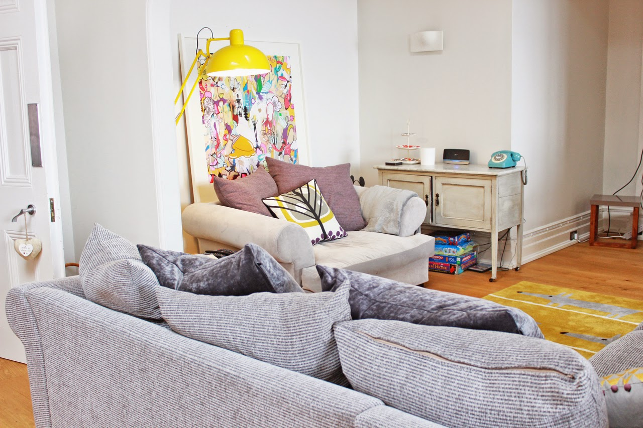 Zoella Living Room